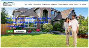 Solia Media Website for Collaborative Touch Realty
