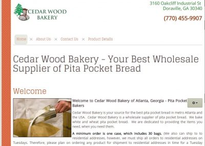 CEDARWOOD BAKERY – ATLANTA