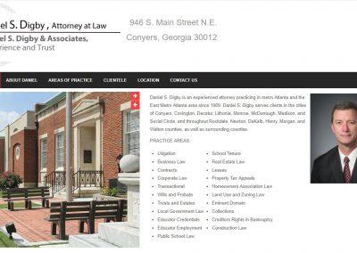 ATTORNEY DANIEL S. DIGBY & ASSOCIATES, LLC