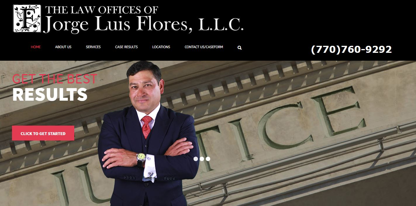 Solia Media Designs New Website for The Law Offices of Jorge Flores, Esq.