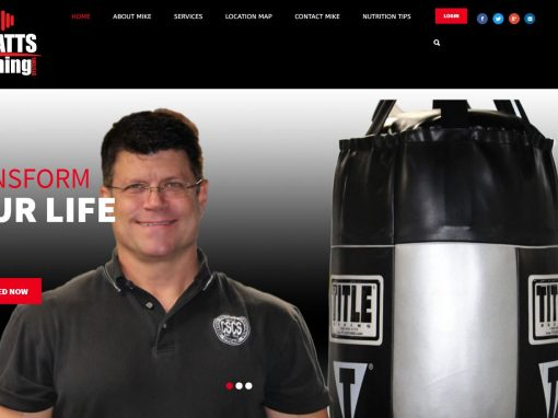 Solia Media Designed Website for Watts Training