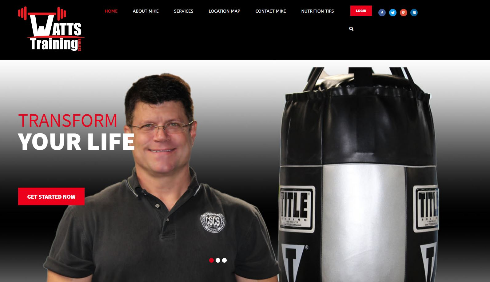 Watts Training - Website by Solia Media