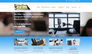 Solia Media Designs Selective Solutions Website - Best in Conyers, Atlanta , Rockdale
