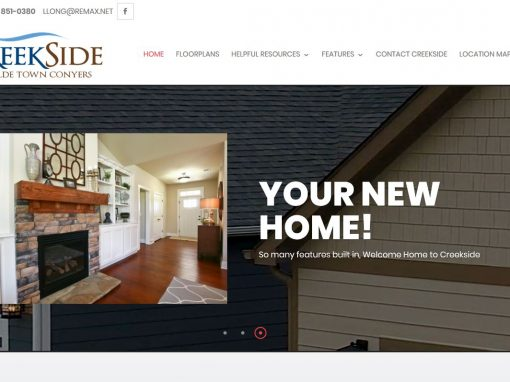 Solia Media Creates New Site for Creekside Conyers (at Olde Town)