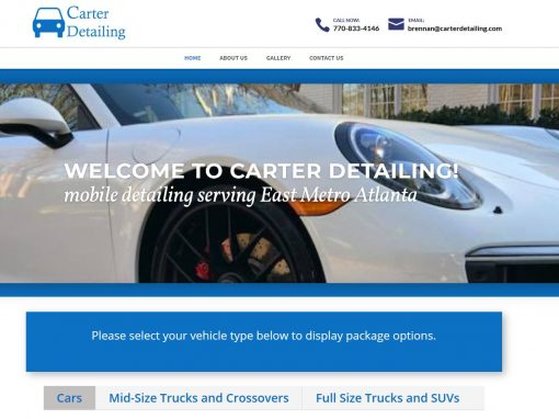 Carter Mobile Detailing – Serving East Metro