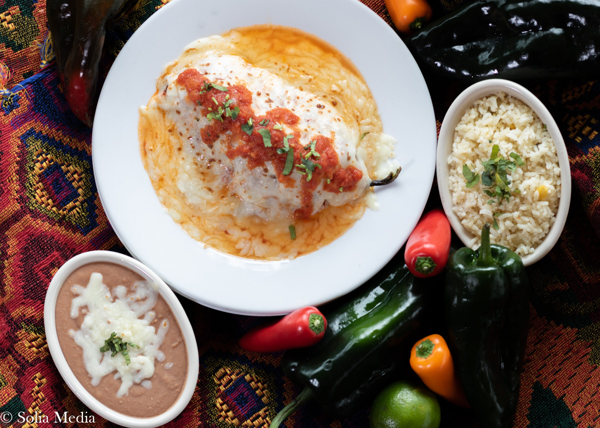 Las Flores Olde Town Mex - Professional Food Photos By Solia
