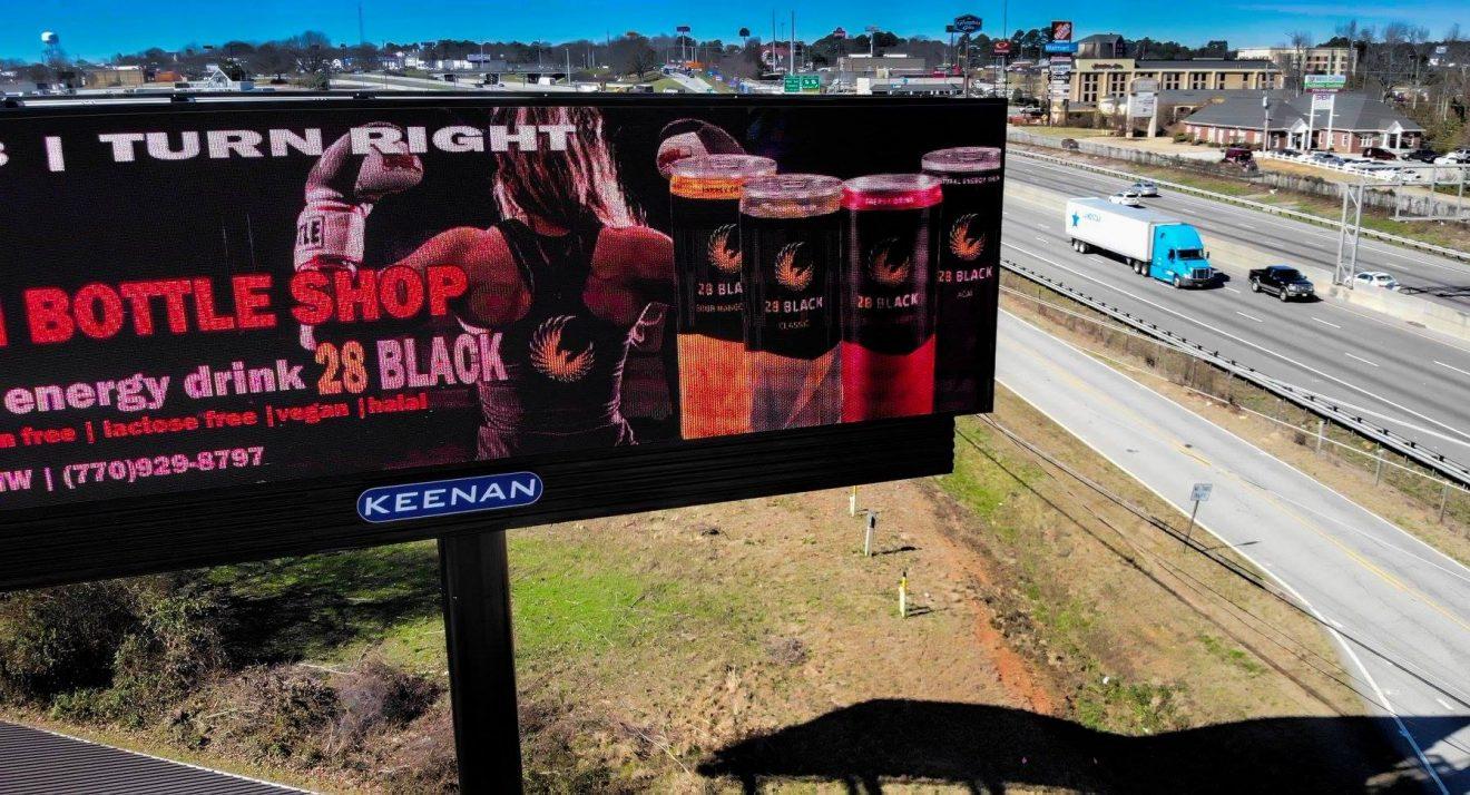 Solia Media Digital Billboard Designs - Best in Conyers and East Metro - 28 Black!